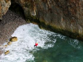ADVENTURE COASTEERING