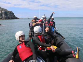 Adventure Coasteering with Anglesey Adventures