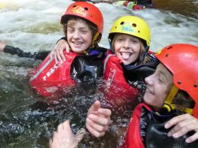 Gorge Scrambling for Schools