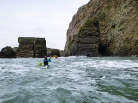 Sea Kayaking Courses with Anglesey Adventures