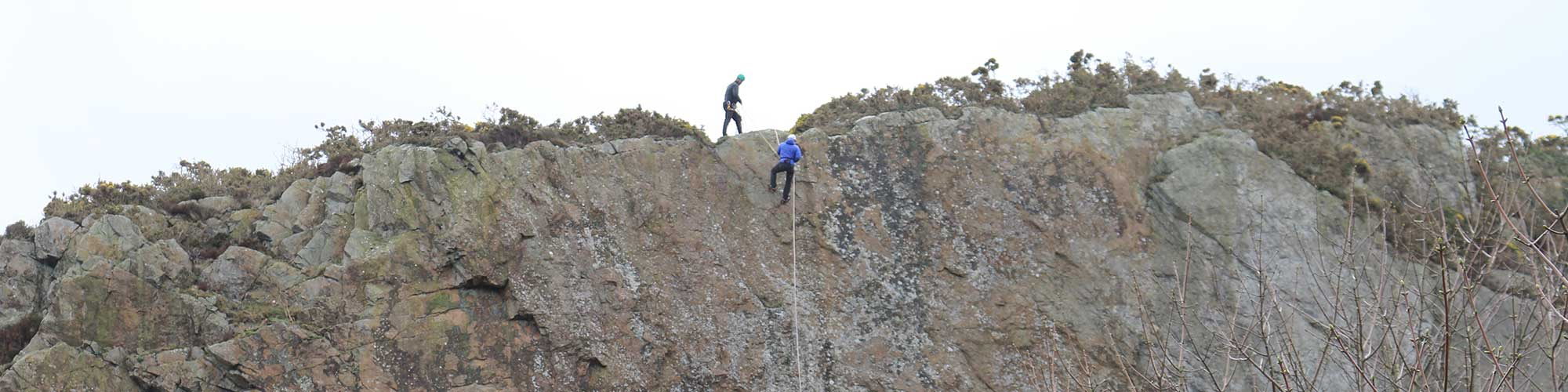gorge-walking