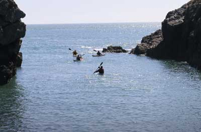Sea Kayaking Courses Wales