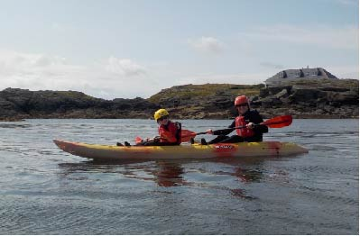 Sea Kayaking Wales